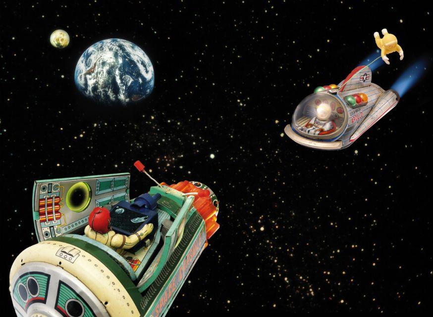 Spielspaß in den Weiten des Alls. • Foto: DAJ / Getty Images