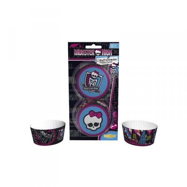 Muffinförmchen Monster High, 50 Stück