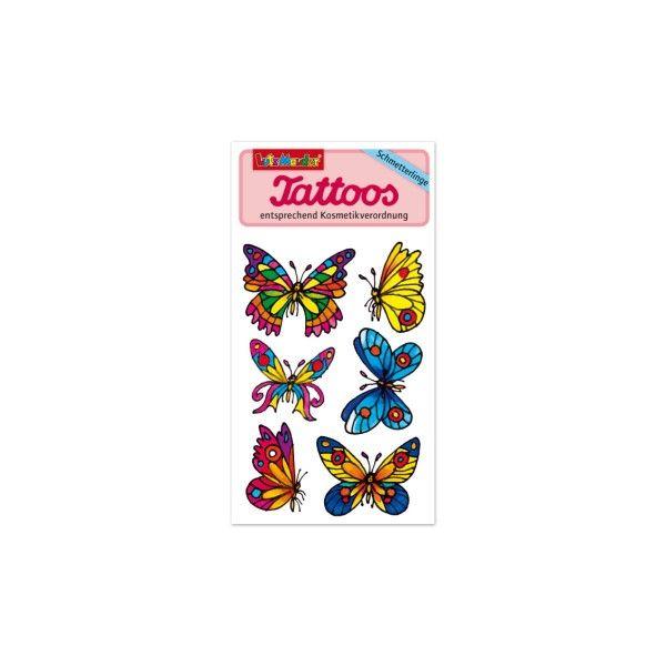 Tattoos Schmetterlinge, 1 Bogen