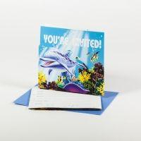 Einladungskarten Unterwasserwelt