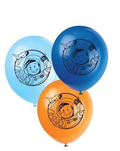 Luftballons Astronaut Flo, 8 Stück