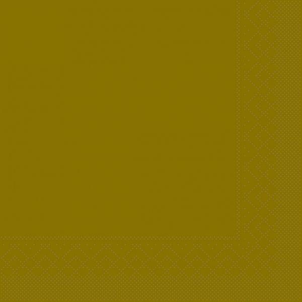 Servietten gold, 33 cm, 20 Stück
