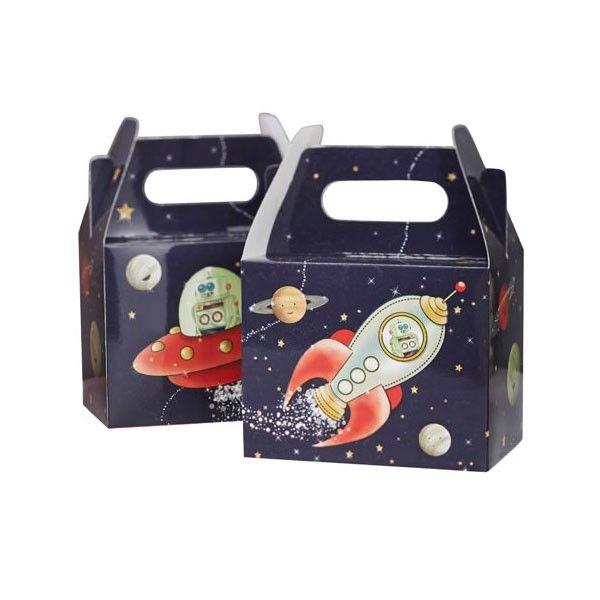 Boxen Weltraum, 10x15x20cm, 5 Stück