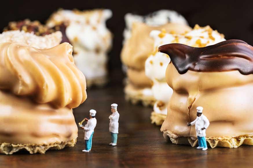 Sie müssen kein Meisterbäcker sein, um Ihren Kuchen zu retten! • Foto: margie (1603516 Miniwelten - Schokokuss Verkostung) / photocase.de