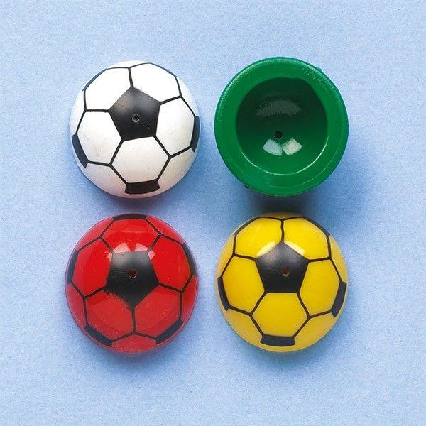 Mini-Fußball-Popper, 12 Stück