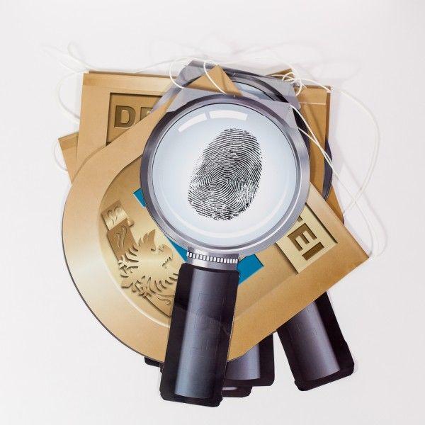 Wimpelkette Detektiv, 3,5m