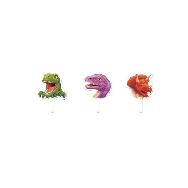 Muffinpicker Dino, 6,3cm, 12 St