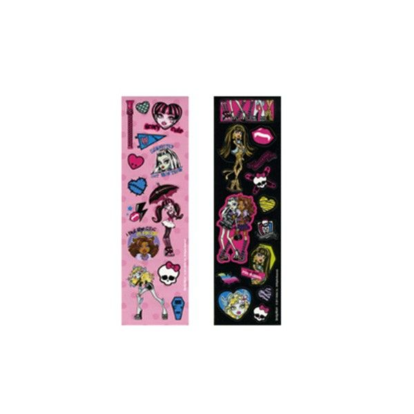 Sticker Monster High, 8 Bögen