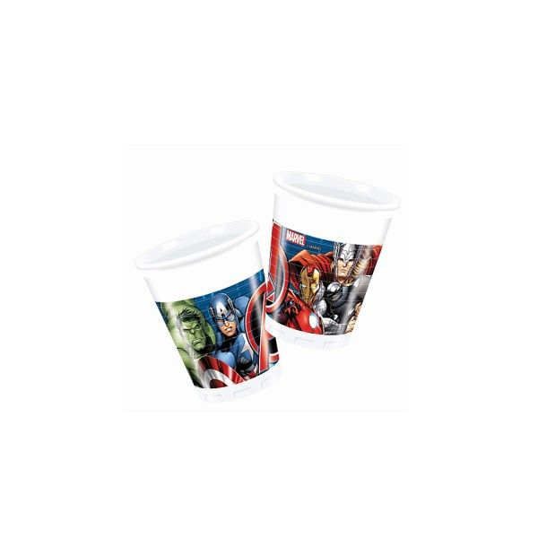 T1142324-Trinkbecher-Avengers-Power-200ml-8-Stueck