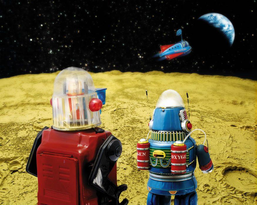 Welcher Weltraumforscher wagt sich als Erster in unbekannte Welten? • Foto: DAJ / Getty Images