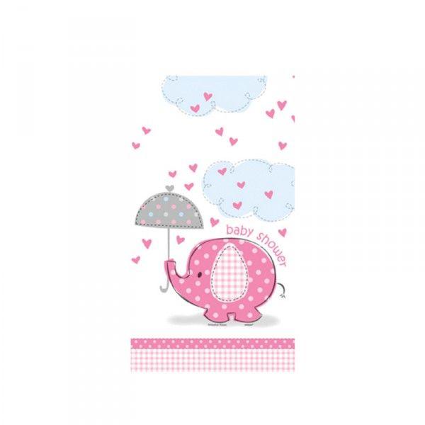 Tischdecke Baby, rosa, 137x213cm, 1 St
