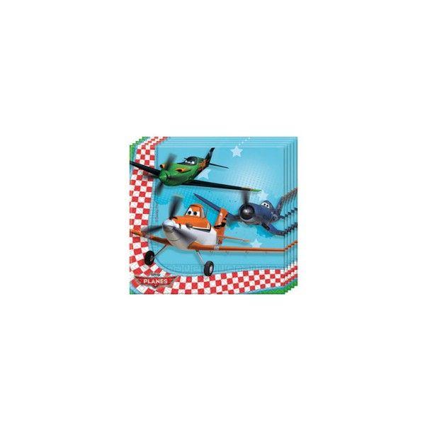 Servietten Planes, 33cm, 20 St