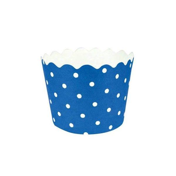 T1142628-Muffinfoermchen-gepunktet-blau-12-Stueck