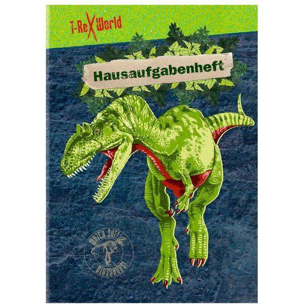 Hausaufgabenheft A5 Dino T-Rex World