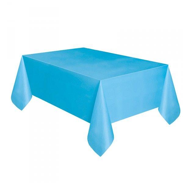 Tischdecke hellblau, 137x274cm