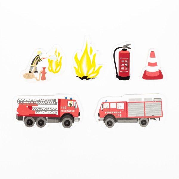 XXL Konfetti Feuerwehr, 24 Stück