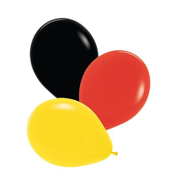 Luftballons Deutschland, 30 cm, 12 Stück