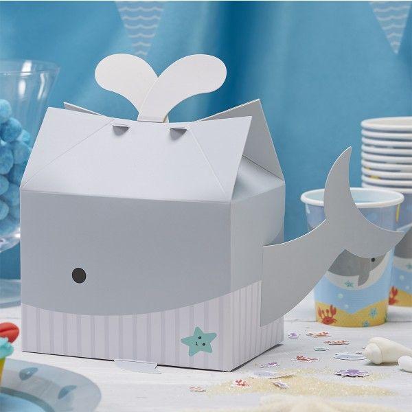 Partyboxen Unterwasserwelt, 20cm hoch, 5 Stück