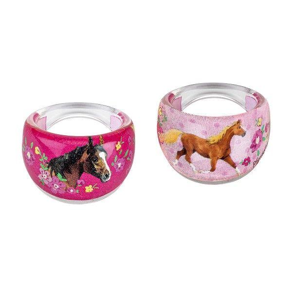 Ringe Pferdefreunde für beste Freundinnen, 2 Stück