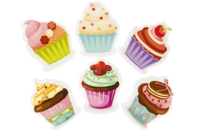 Radierer Cupcake, 1 Stück