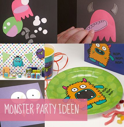 So feiern kleine Monster!