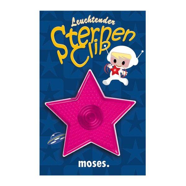 Leuchtende Sternen-Clips, verschiedene Ausführungen, 1 Stück