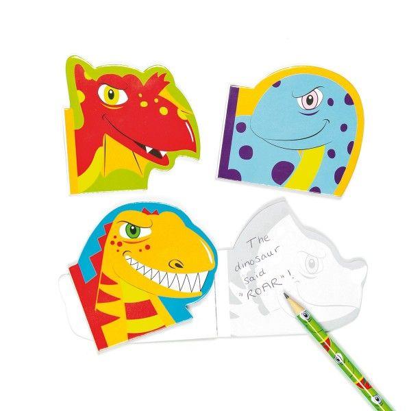Notizblöcke Dino, 8 Stück X X
