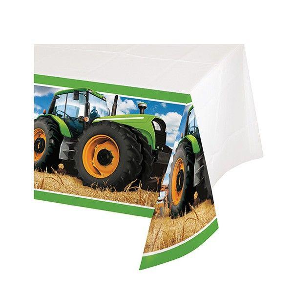 Tischdecke-Traktor-137x259cm