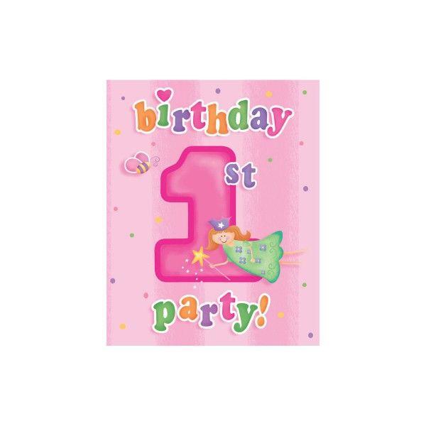 Einladungen, 1. Geburtstag, 8 St