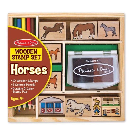 Stempel Set Pferde