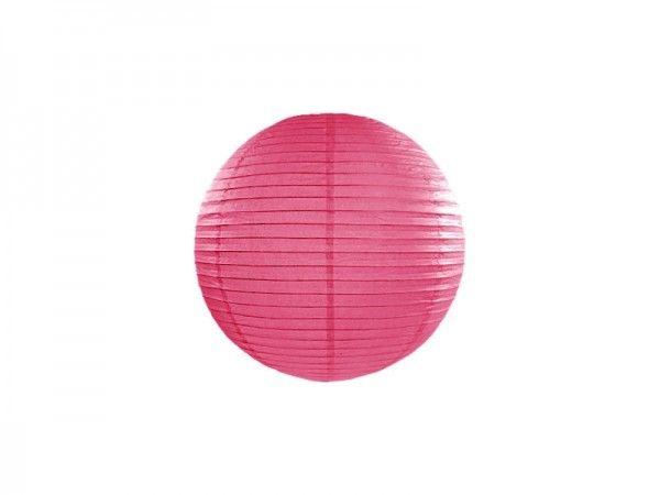 Papier Laterne, Lampion Pink, Ø 25 cm