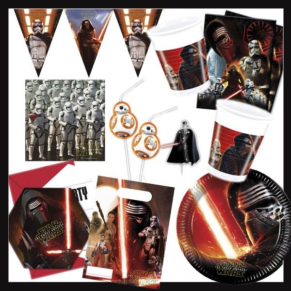 Party-Set Star Wars Box, 62-teilig