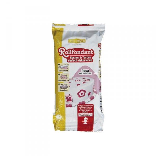 Rollfondant 250g, rosa