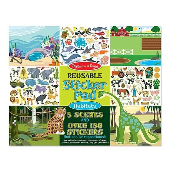 Sticker Buch Tiere, 150-teilig