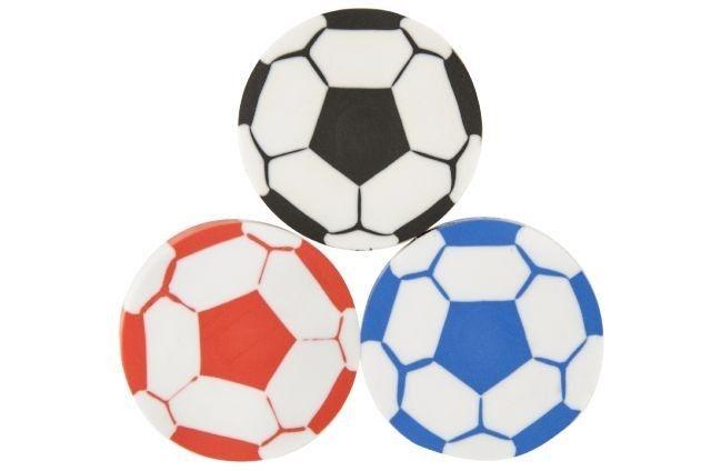 Radierer Fussball, 1 Stück