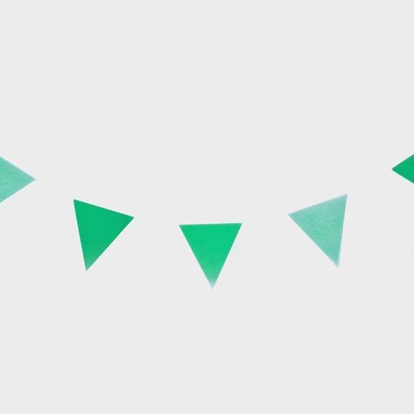 Wimpelkette-gruen-3m-neu