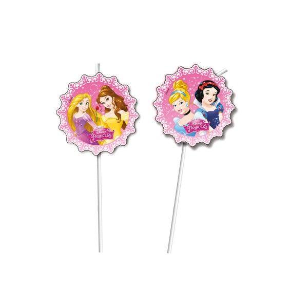 Strohhalme Disney Prinzessinnen, 6 St