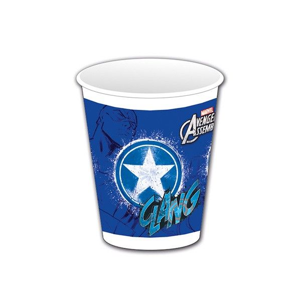 T1142334-Trinkbecher-Avengers-Teen-Captain-America-200ml-8-Stueck