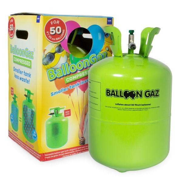 Helium Ballon Gasflasche, Ballon Maschine, 0.4 m³ für ca. 50 Ballons von 23cm Größe