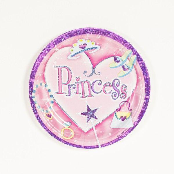 Pappteller Prinzessin