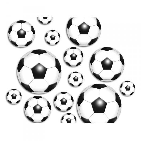 Konfetti Fußball, 42 Stück