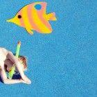 Unterwasserweltgeburtstag-Spiel-Angeln-Anleitung