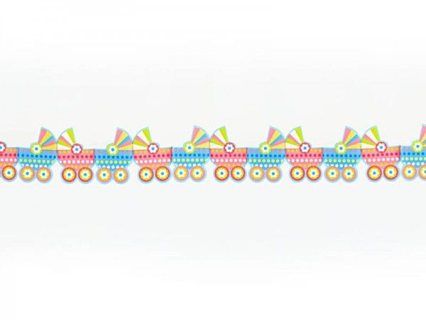 Baby-Kinderwagen Girlande, 3 m