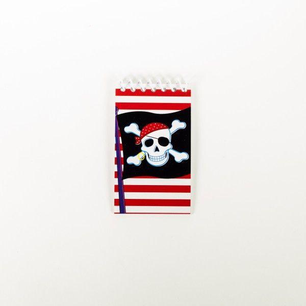 Notizblöcke Pirat, 12 Stück