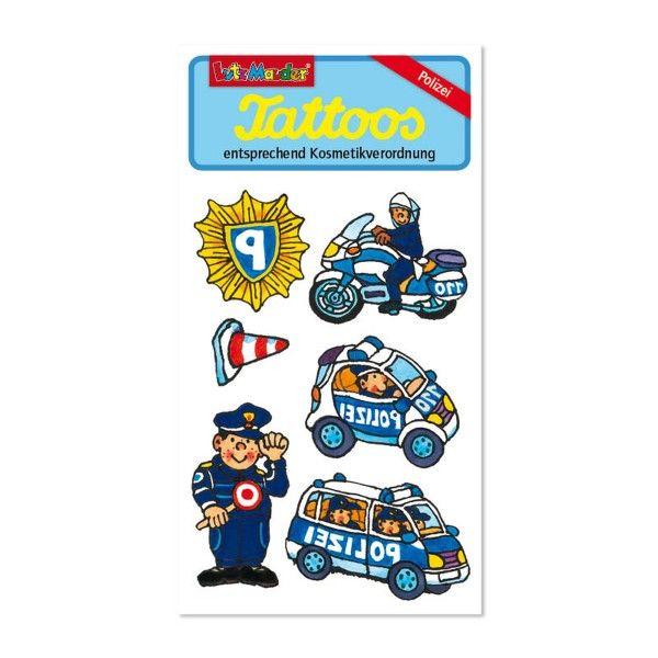 Tattoos Polizei