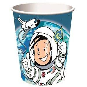 Pappbecher Astronaut Flo, 250ml, 8 Stück