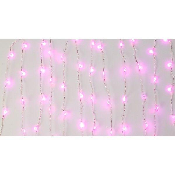 Lichterkette pink, 3m