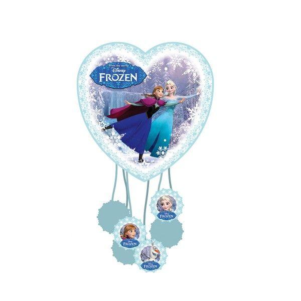 Mini Pinata Eiskönigin zum Ziehen