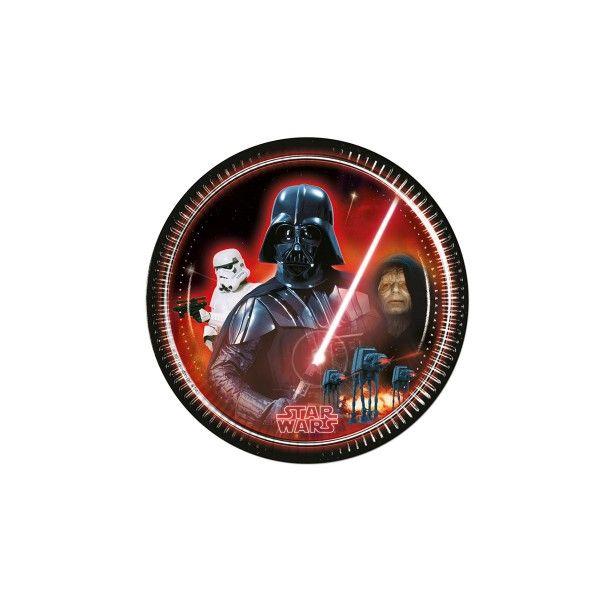 Pappteller Star Wars, ø 23cm, 8 Stück