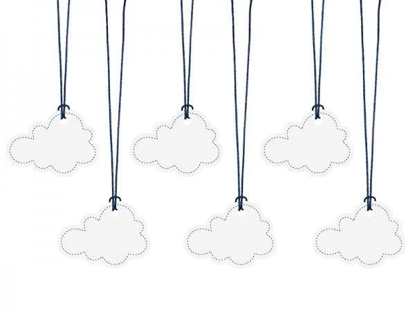 Geschenkanhänger Über den Wolken, 6 Stück